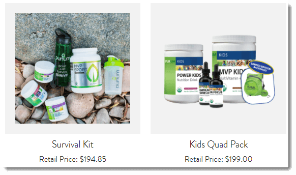 Kits from Purium