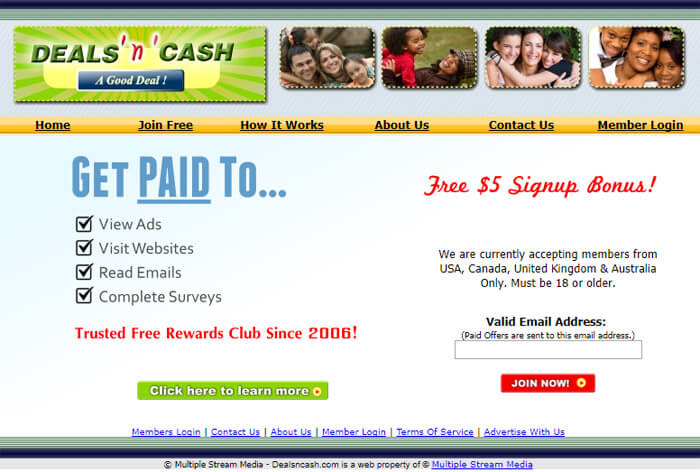 Can You Really Make Money With The Deals N Cash Website