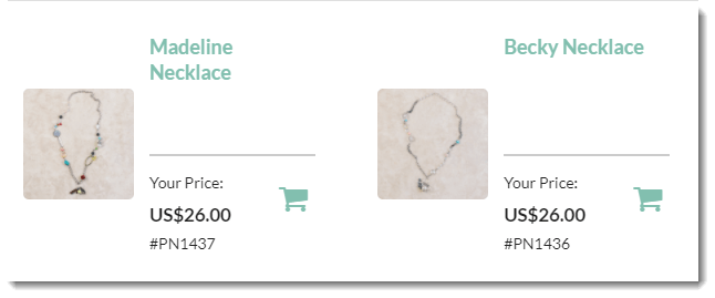 Necklace Prices