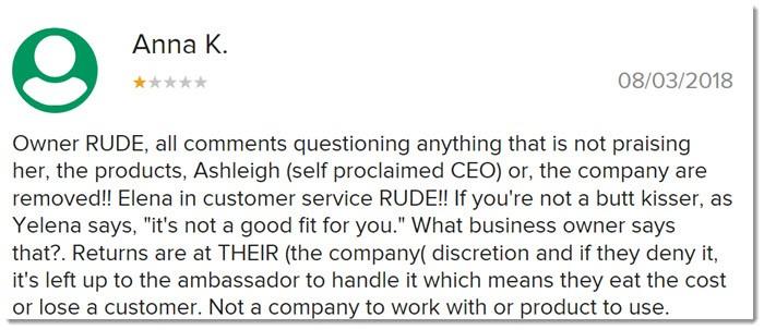 Rude Customer Service