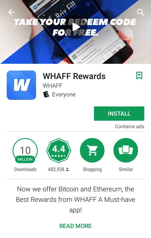 WHAFF Vital Information