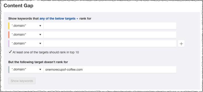 content gap screenshot 1