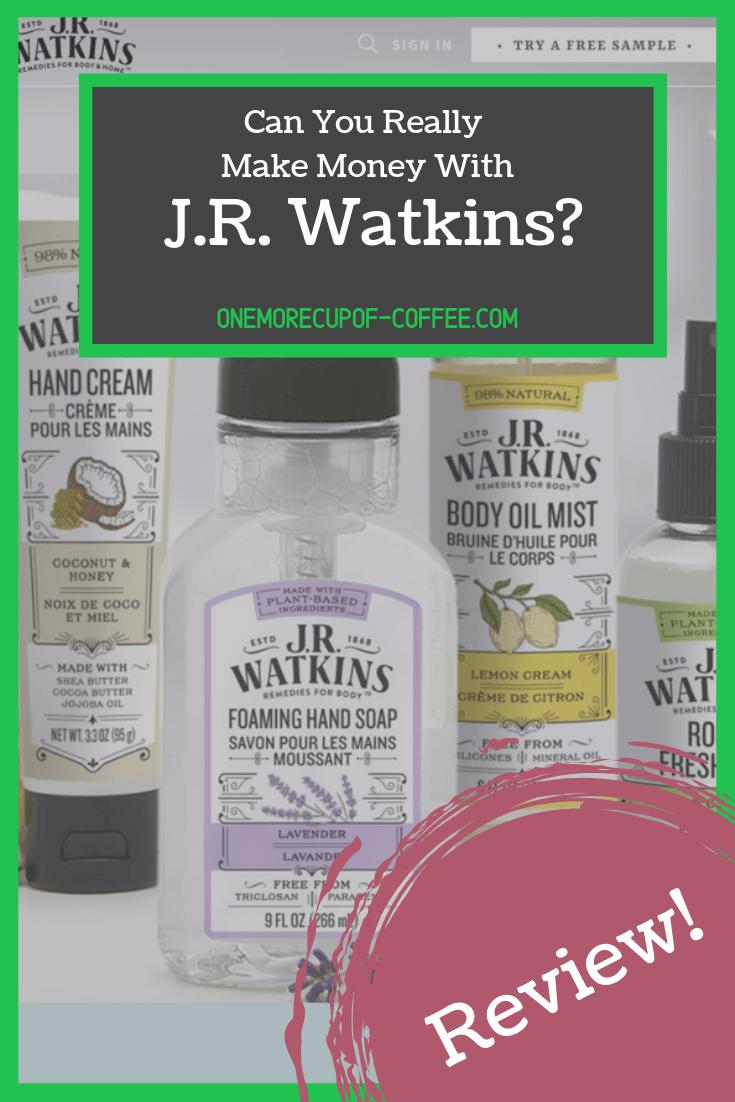 make money jr watkins