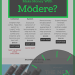 """screenshot of home page of modere with the phrase """"can you really make money with modere?"""""""