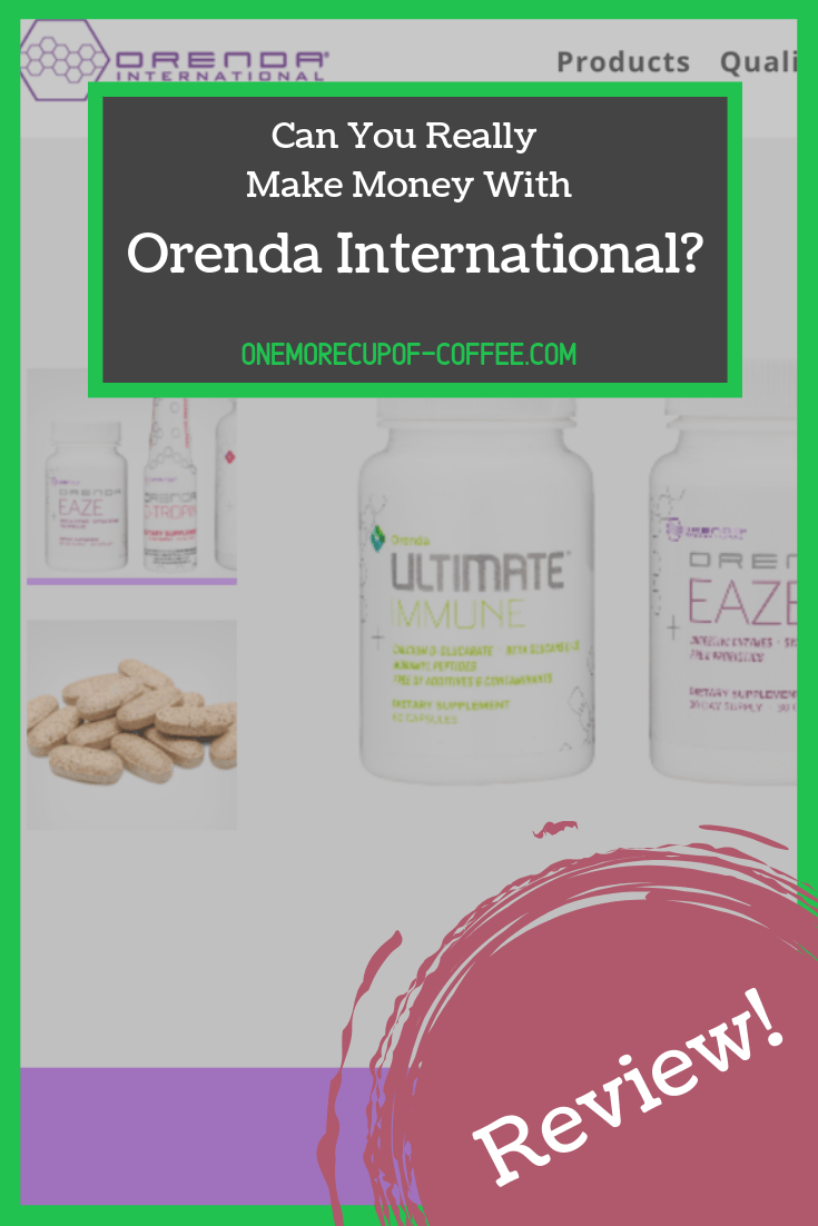 "screenshot of the orenda international website with text that says, ""can you really make money with orenda international?"""