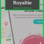 """screenshot of royaltie home page with text overlay """"can you really make money with royaltie?"""""""