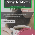 """screenshot of the ruby ribbon website with text overlay that says, """"can you really make money with ruby ribbon?"""""""
