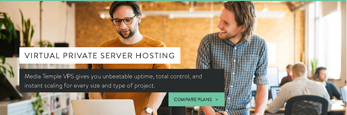 Virtual Private Server Hosting from Media Temple
