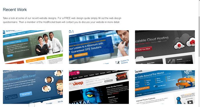 Host Rocket Provides In-House Web Design Services