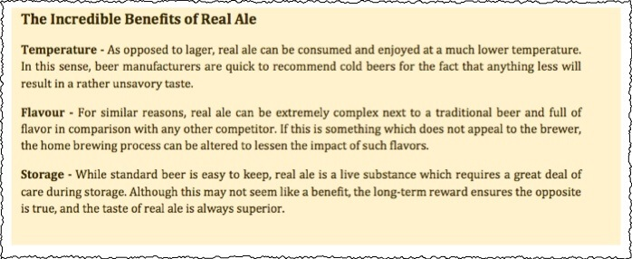 Fiverr Real Ale Article Trash