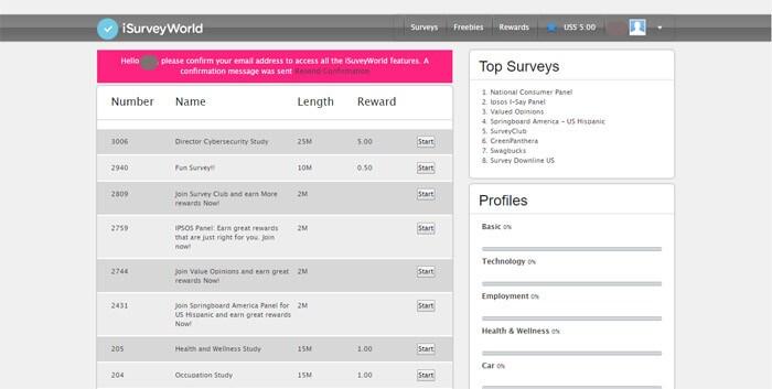 I Survey Hub Main Hub