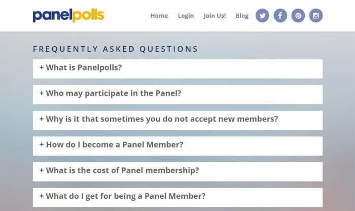 PanelPolls FAQ Page