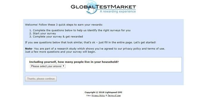 SurveyRewardz Survey