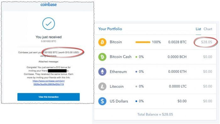 coinbase bitcoin affiliate earnings