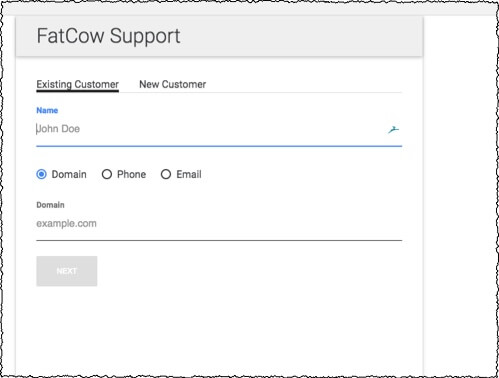 fatcow live support
