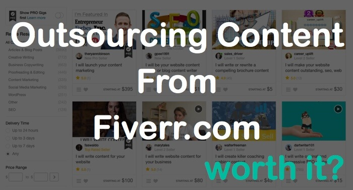 outsourcing content fiverr com