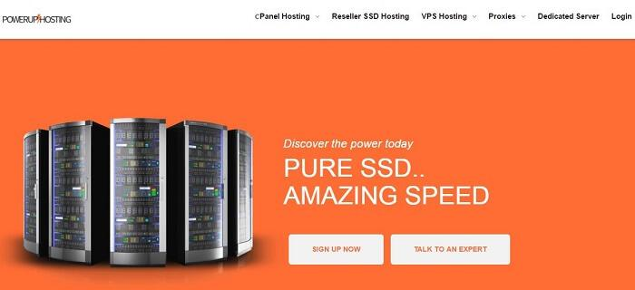 Receive Amazing Speed with SSD Servers from Power Up Hosting