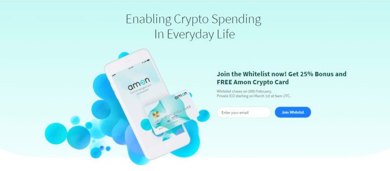 Amon ICO Review: Allowing You To Spend Crypto More Efficiently