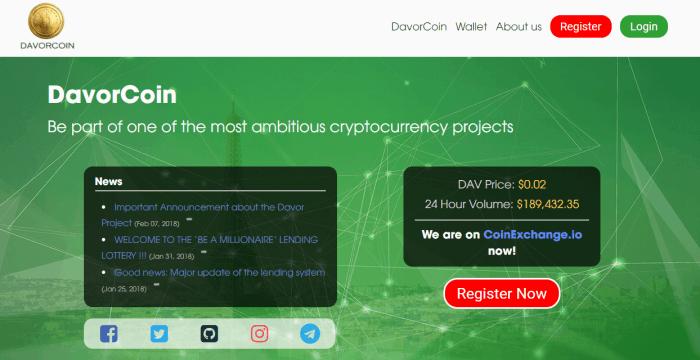 Davor Coin Scam