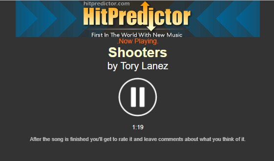 HitPredictor Music Player