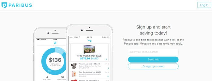 How To Sign Up For Paribus