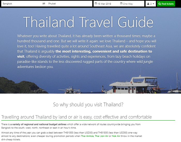 12Go Asia Travel Suggestions
