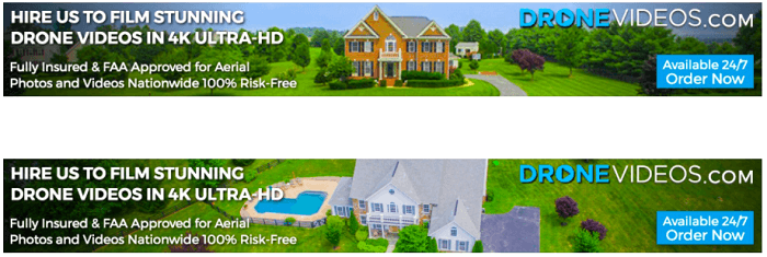 DroneVideos.com Banners