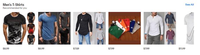 Ebay Affiliate Men Fashion