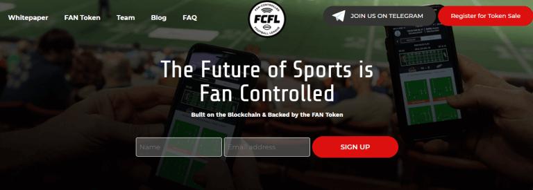 Fan Controlled Football League: Long-Awaited ICO Starts Soon