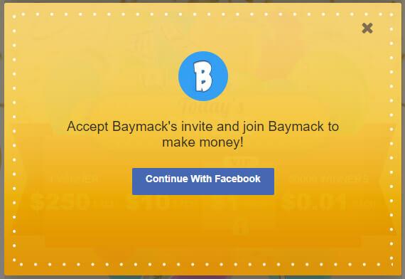 Joining Baymack
