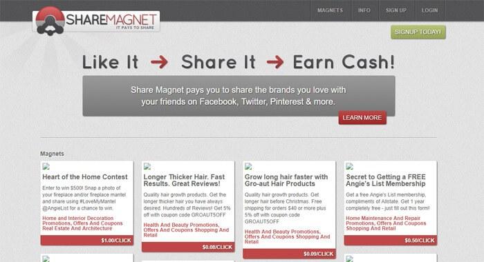 Make Money ShareMagnet