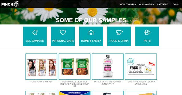 PINCHme Samples