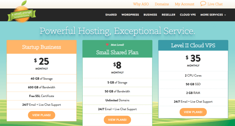 A Small Orange Shared and VPS hosting Review – Are They Still On Their Game?