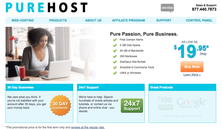 PureHost Review – One Size Fits All