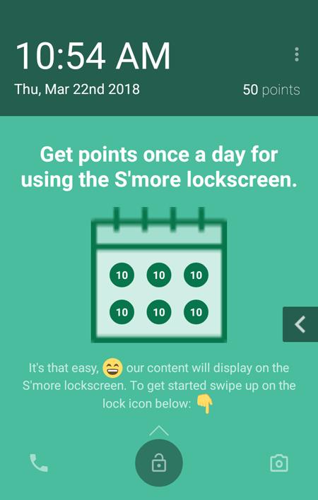 Smore Lock Screen