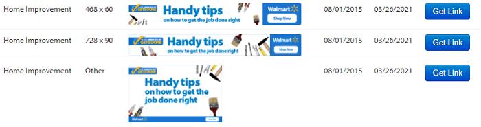 Walmart Banners