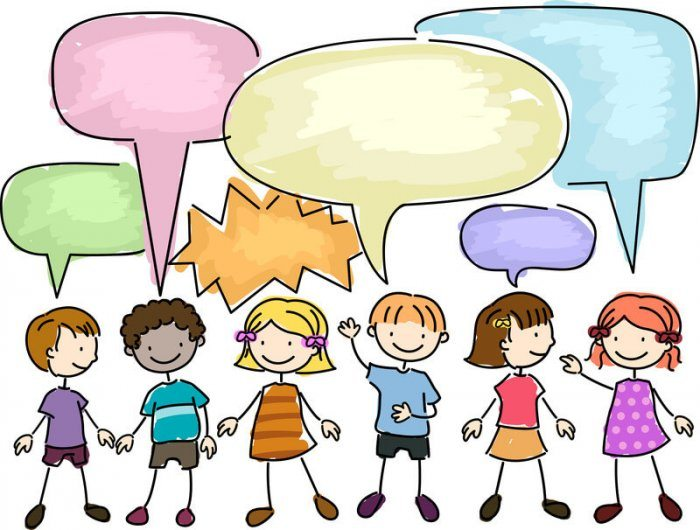 children talking with colored bubbles over their heads representing best Comment Management Plugins for WordPress