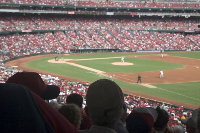 image of baseball game from the stands representing the best sports affiliate programs