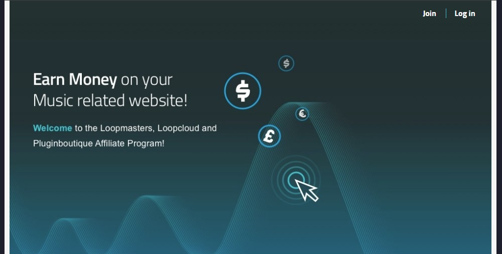 loopmasters affiliate sign up page