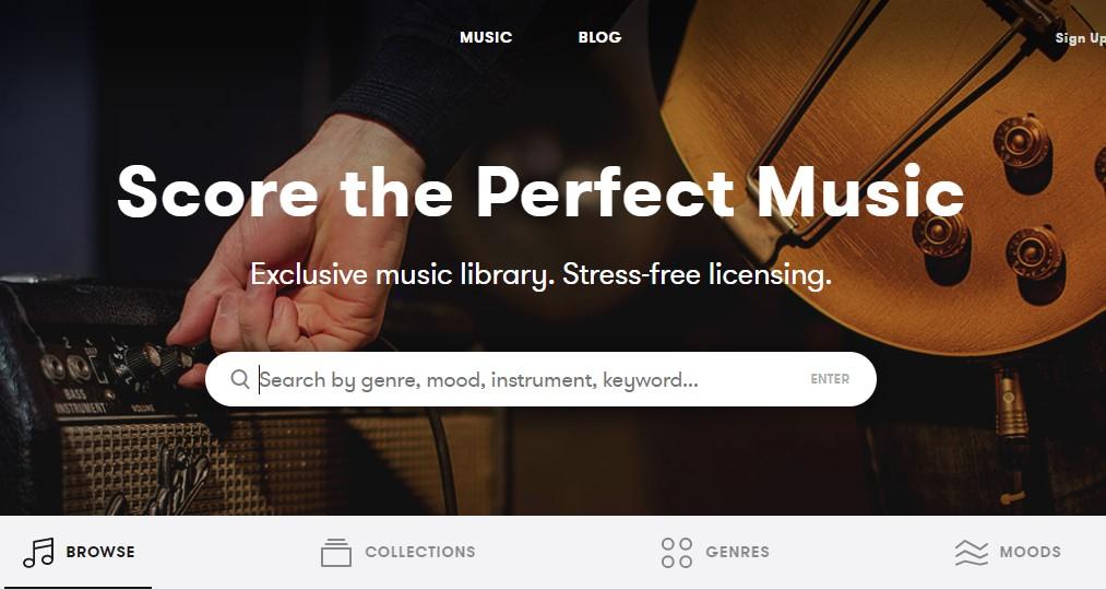 premium beats home page