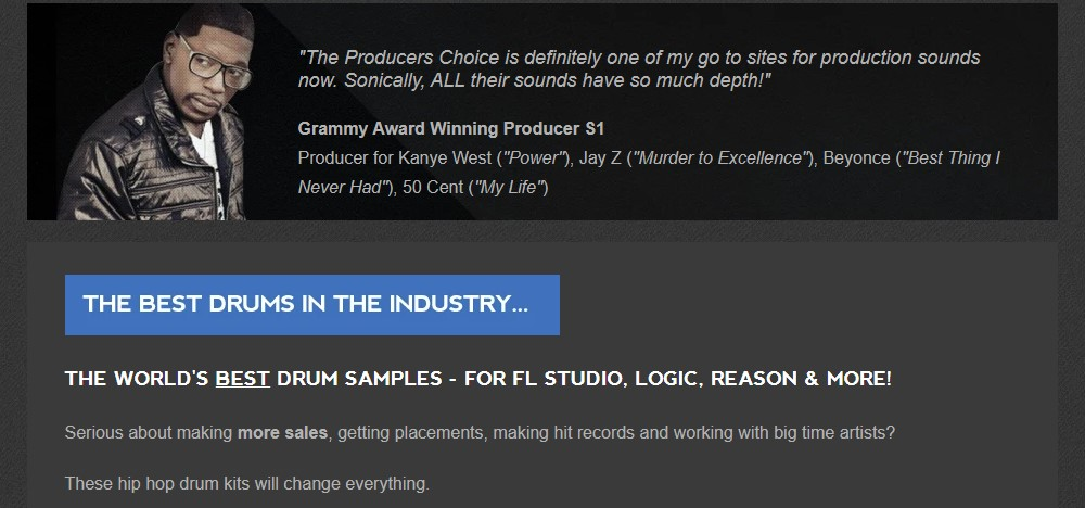 producers choice home page