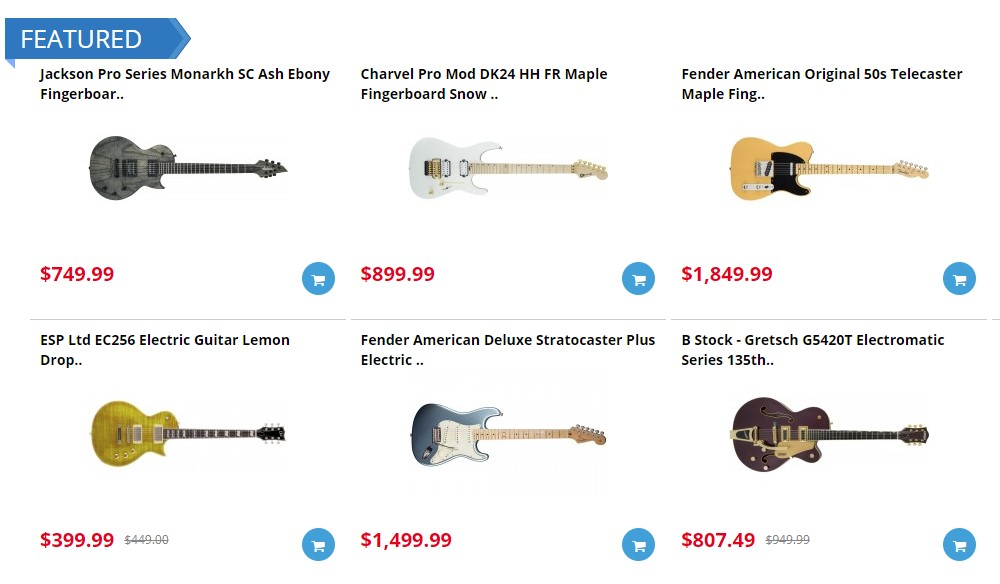 world music supply home page