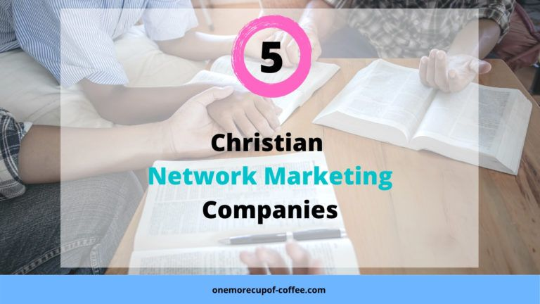 People holding hands and reading the bible to represent christian network marketing campaigns