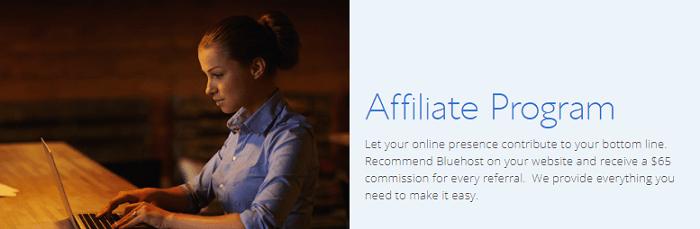 Bluehost Website Affiliate Program