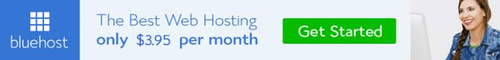 Bluehost Website Banners