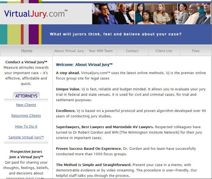 Make Money Virtual Jury