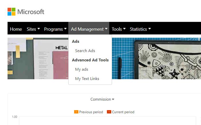 Microsoft Affiliate Program Ads