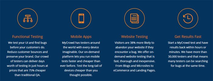 MyCrowd Features