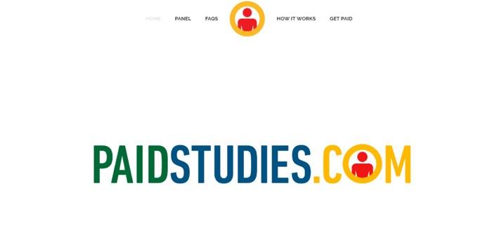 Paid Studies Landing Page