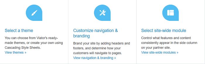 Viator Site Customization